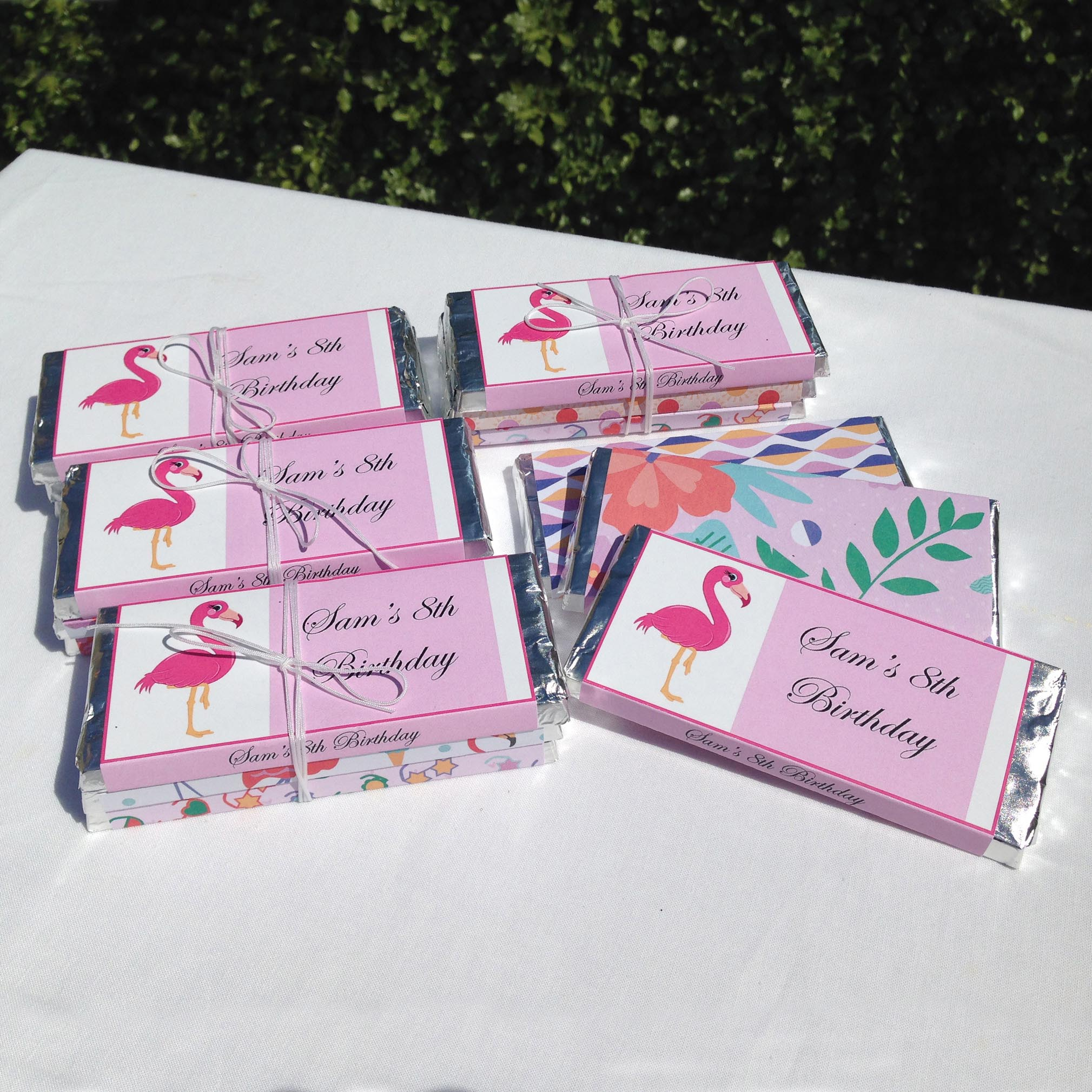 Set of 5 party favours