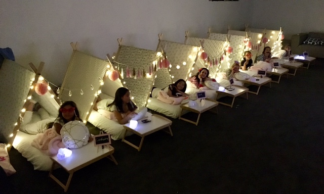Teepees And Treats Kids Teepee Slumber Party Hire Melbourne