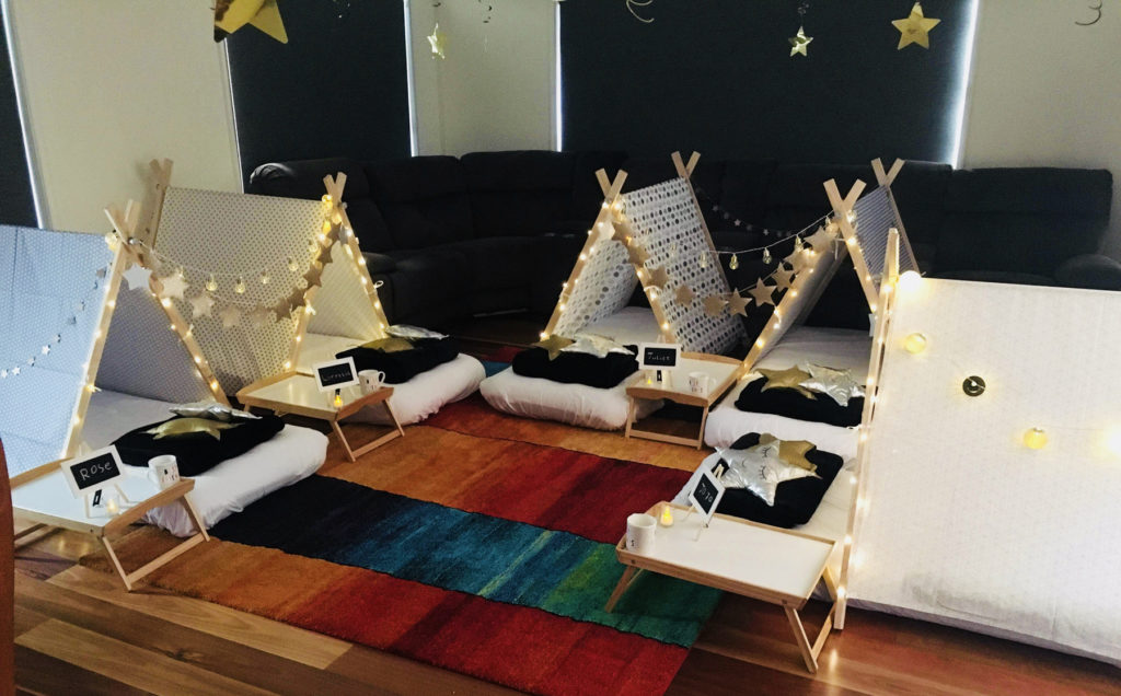 Starry Starry Night Teepees Tents Party Theme