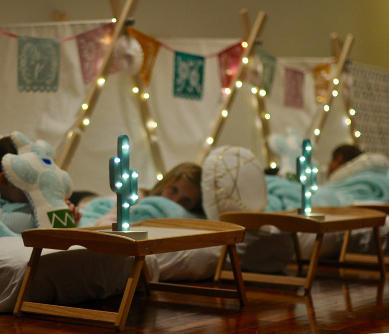 Siesta at Teepee Party