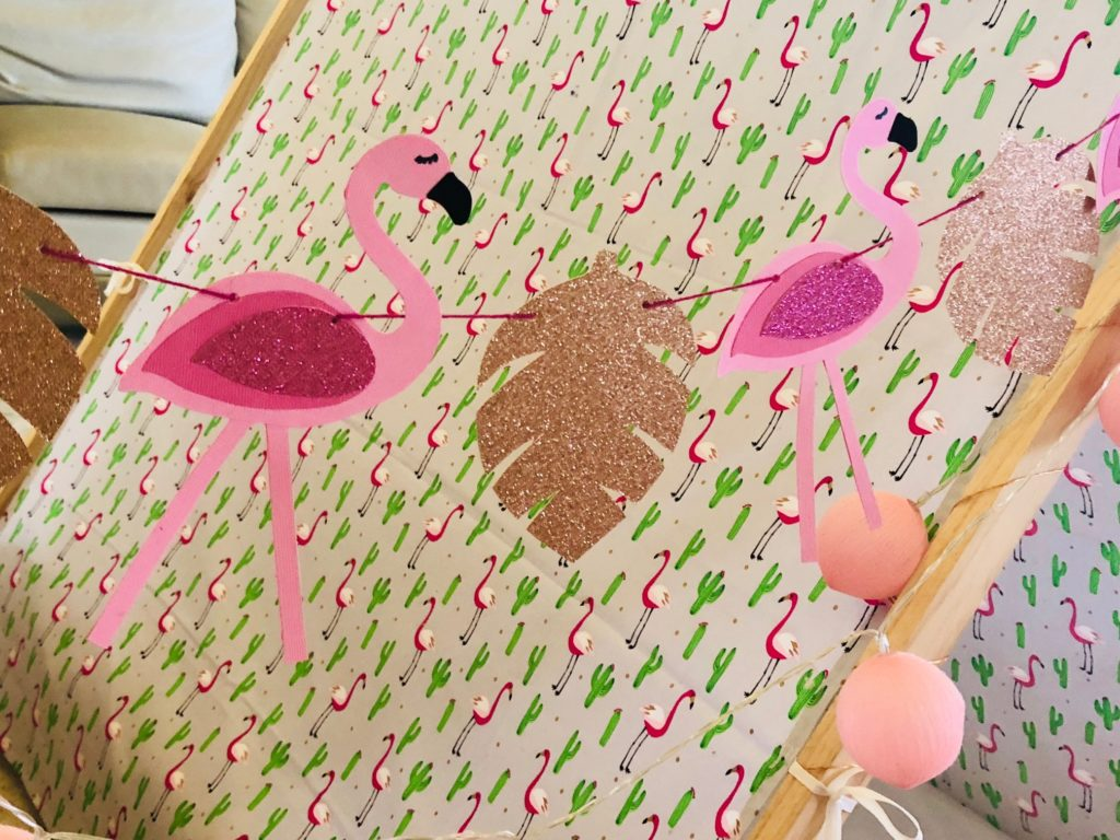 Flamingo Fun Teepees Sleepover Party Theme (4)