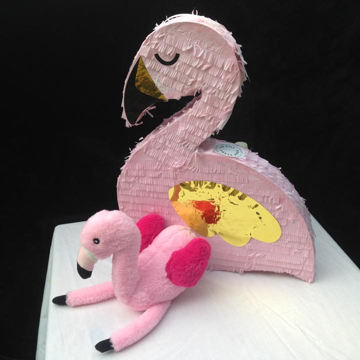 Large Flamingo Piniata