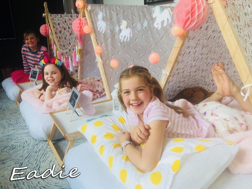 Eadie's Teepee Slumber Party 10