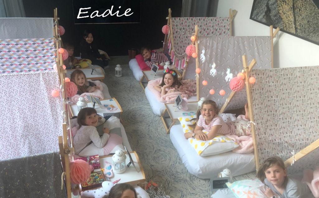 Eadie's Teepee Slumber Party 9