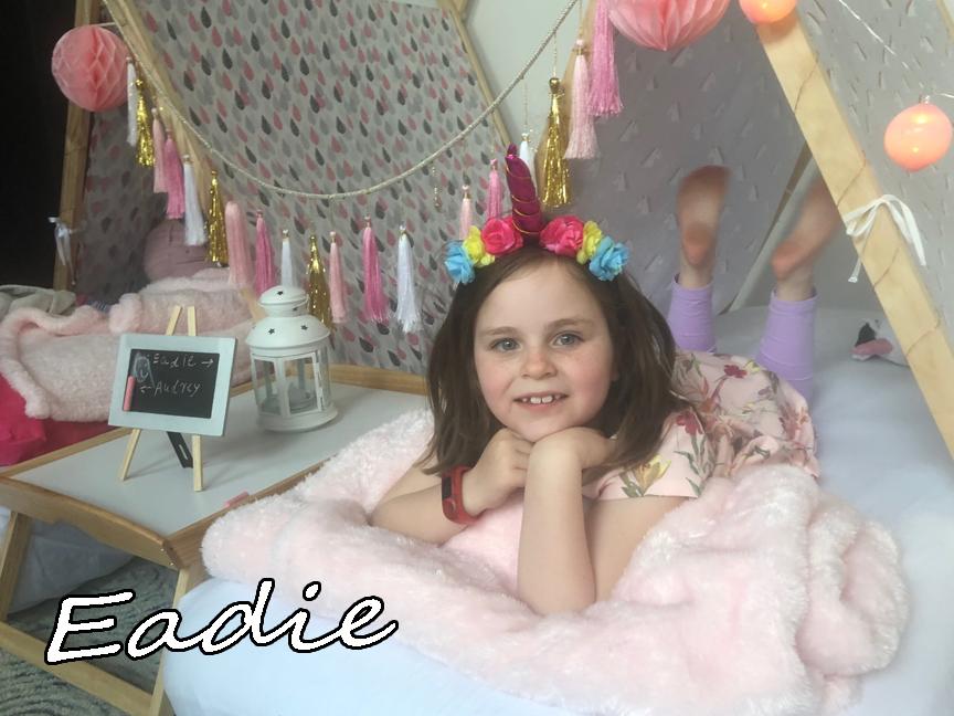 Eadie's Teepee Unicorn Party