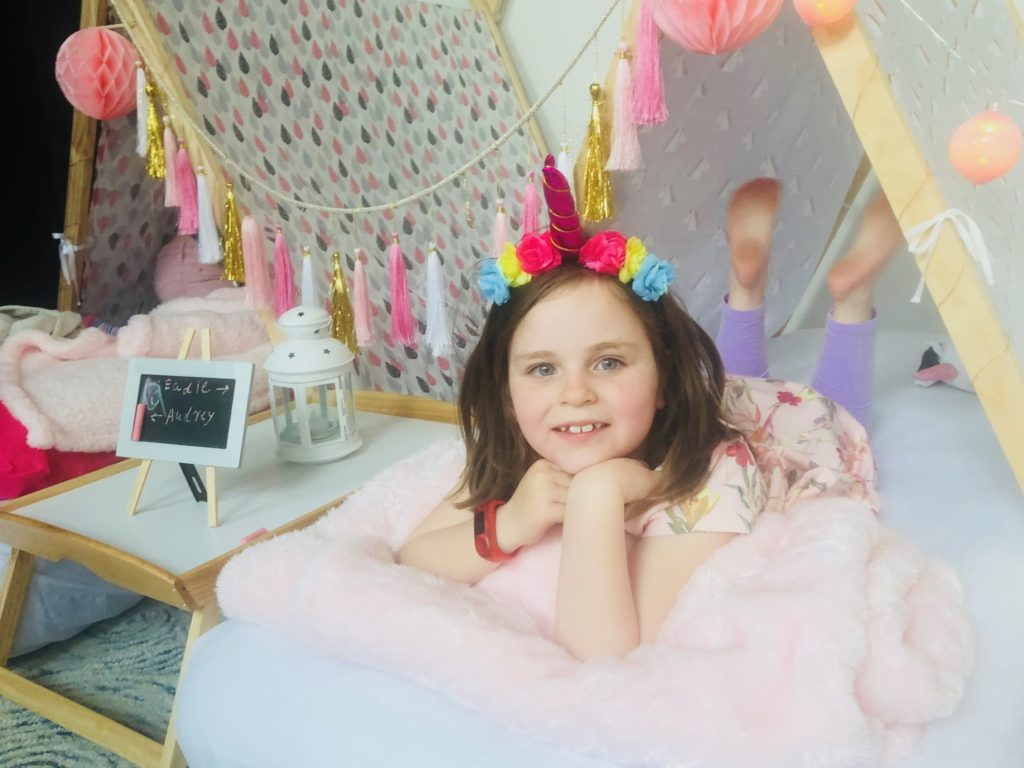 Eadie's Unicorn Teepee Party