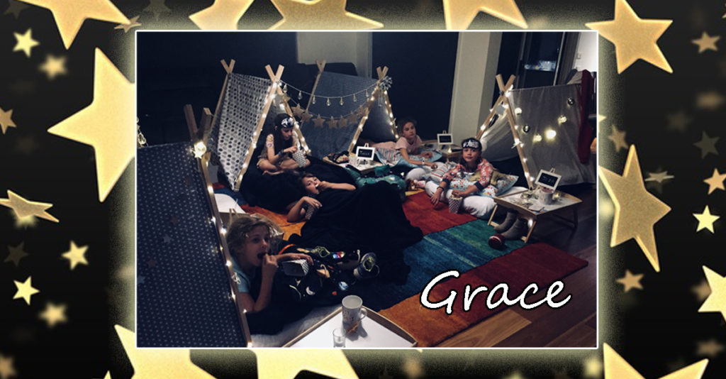 Grace's Teepees Tents Party Melbourne