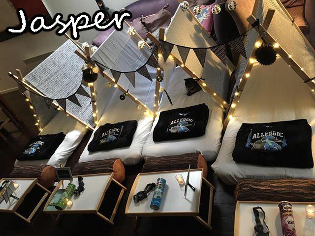 Jasper's Slumber Party (Gallery) 1