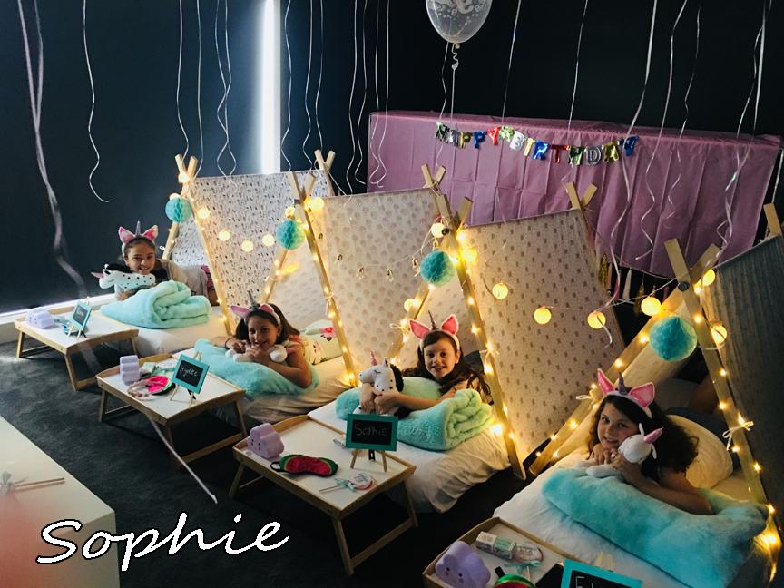 Sophie Unicorn Teepee Party 2