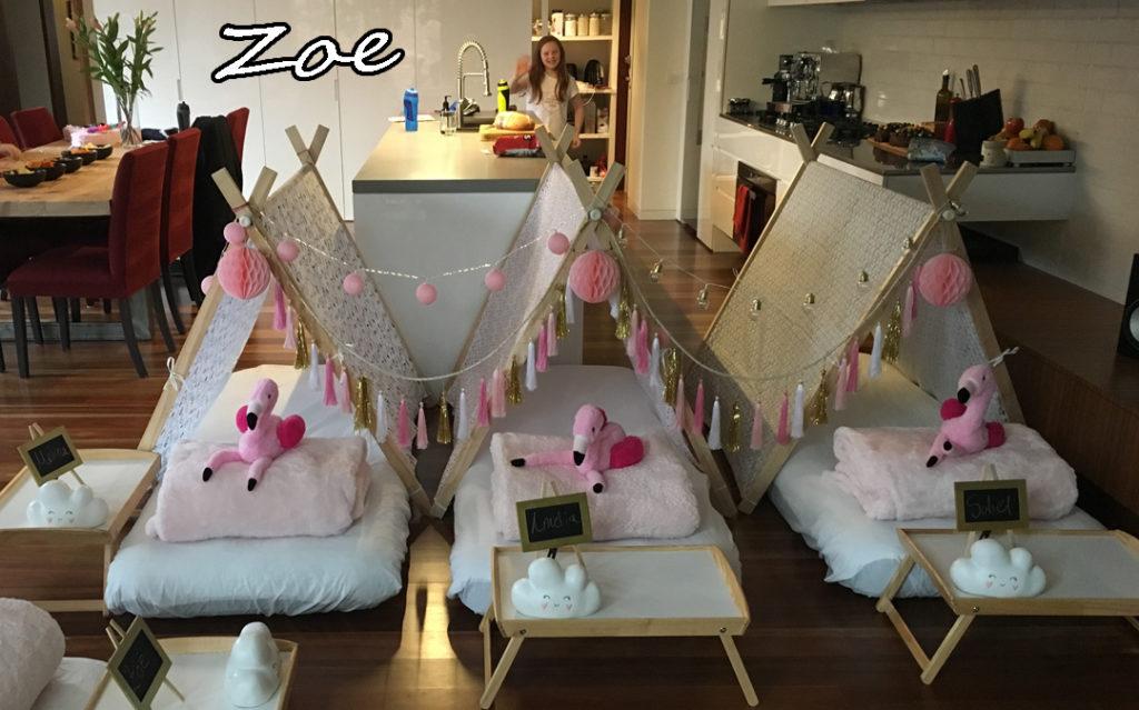 Zoe's Flamingo Teepee Party Gallery