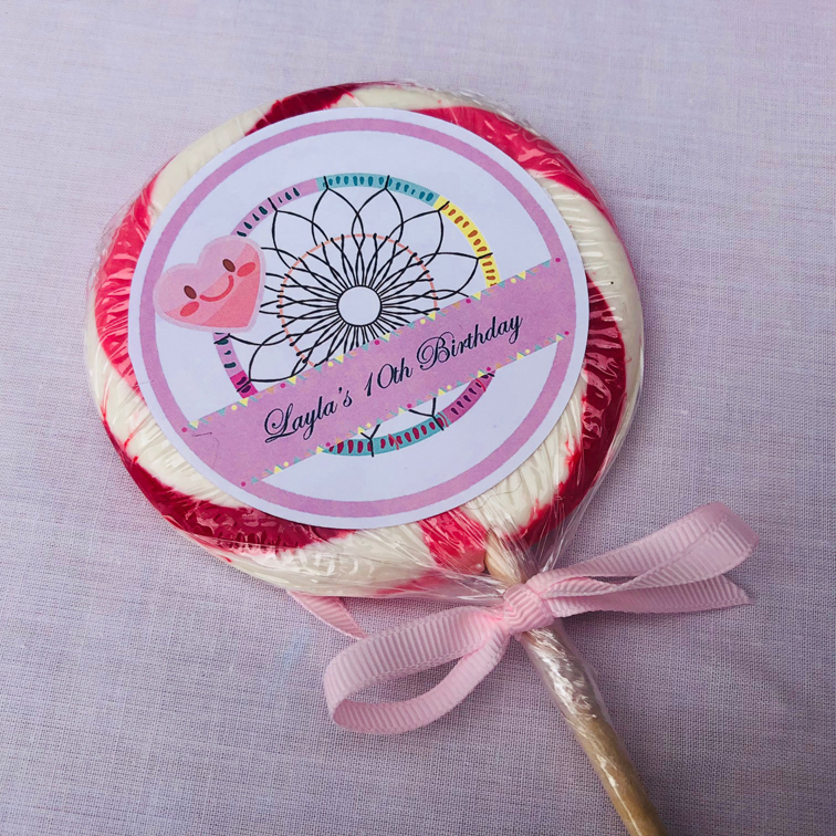 Personalised Lollipops