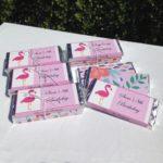 Flamingo Chocolate Treats