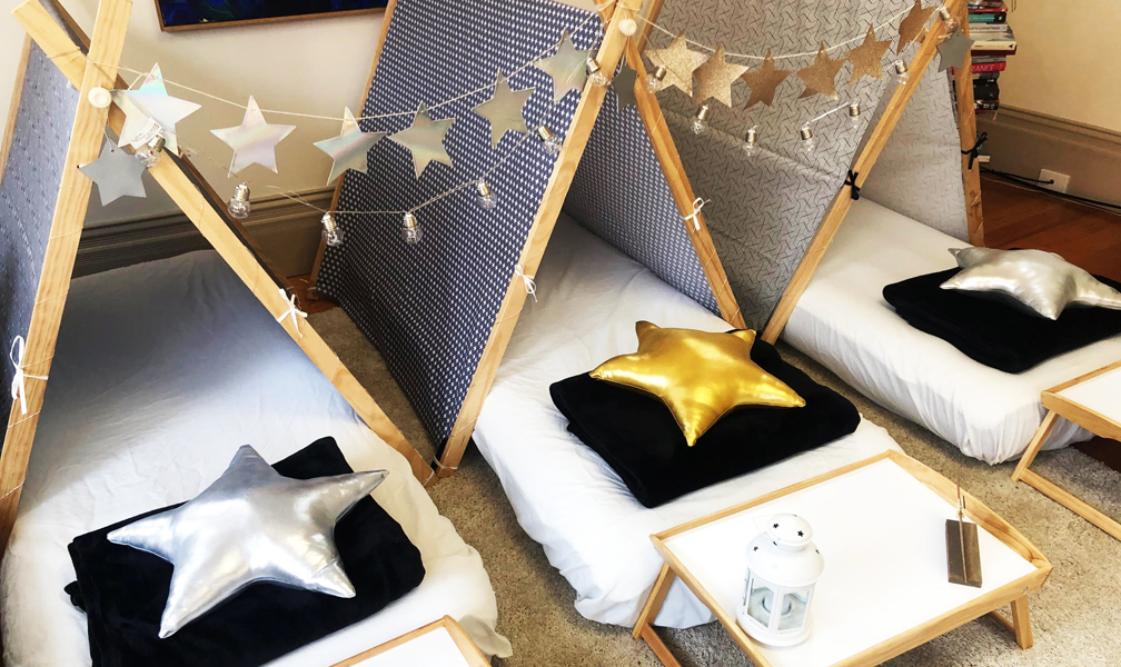 Teepee Party Starry Night Theme