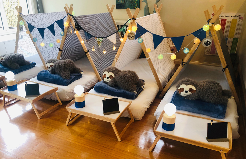 Teepee Party Sloths Theme (8)